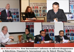 IBVMP Conference on Baloch Missing Person