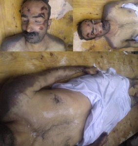 Decomposed body of a Baloch Missing person