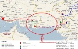 IP Gas pipeline and Balochistan's territory
